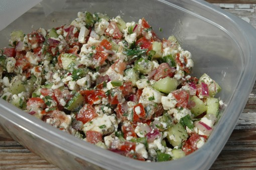 Greek Salad Salsa